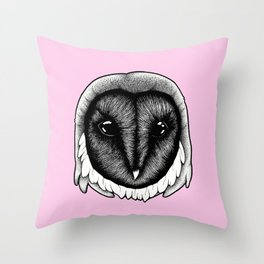 Owlish Throw Pillow