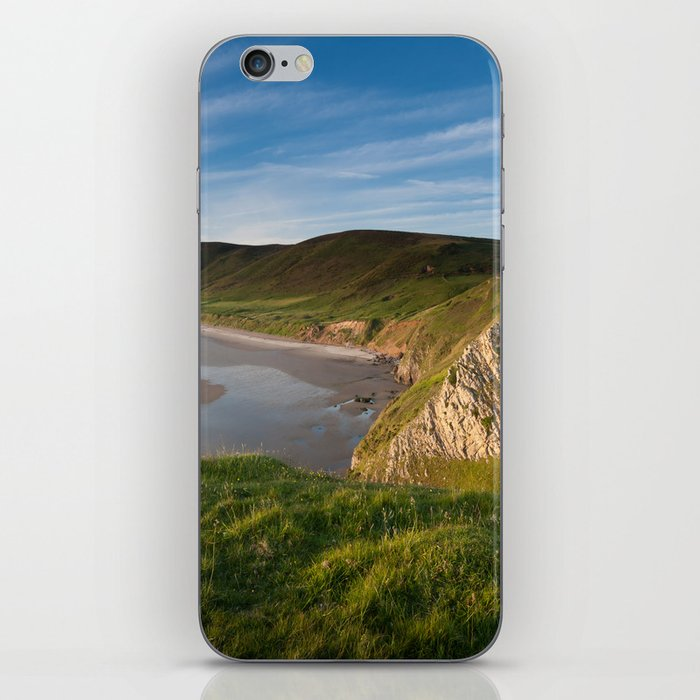 Rhossili bay iPhone Skin