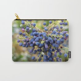 Blue Berries in Monet's Garden  Carry-All Pouch