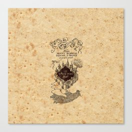 MARAUDERS MAP Canvas Print