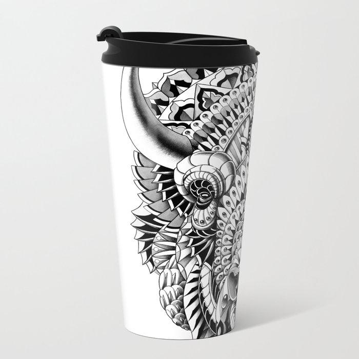 Bison Metal Travel Mug
