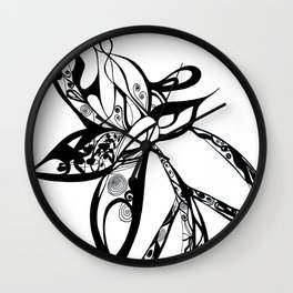 a journey for peace Wall Clock