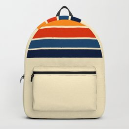 Classic Retro Stripes Backpack