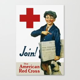 Join The American Red Cross Canvas Print