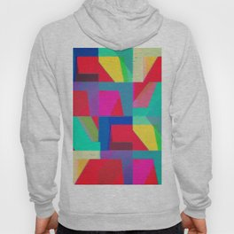 Colorful Truth. Red Hoody