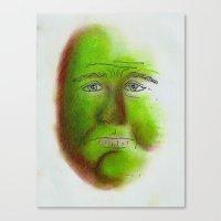 grumpy Canvas Prints featuring Grumpy by Stro