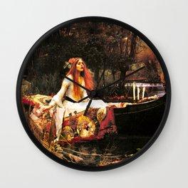 The Lady of Shalott Remastered Wall Clock