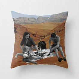 Le Pique-nique Throw Pillow