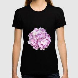 Nantucket Pink Hydrangea Flower T-shirt