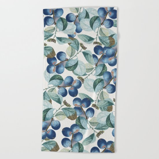 Plum Plum #society6 #decor #buyart Beach Towel