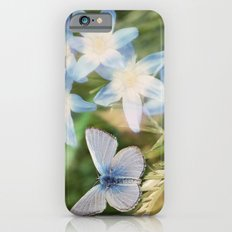 Butterfly :: Blue Sky Wings Slim Case iPhone 6s
