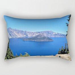 Crater Lake Rectangular Pillow