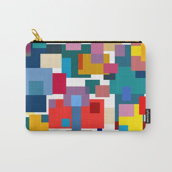 Color Blocks #6 Carry-All Pouch