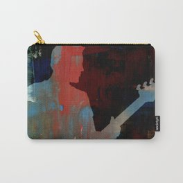 Man Playing Guitar Solo Carry-All Pouch