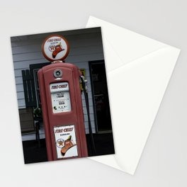 Fire Chief Gas Pump Stationery Cards