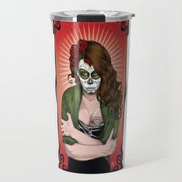 La Muerta Bella Travel Mug