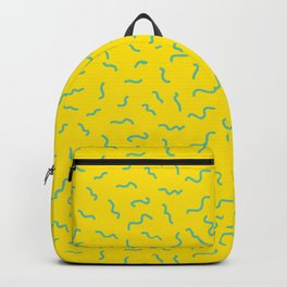 Postmodern Germs No. 1 in Canary Yellow Backpack