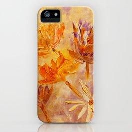 Blaze Of Gold iPhone Case
