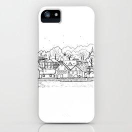 Lunenburg Halifax, Nova Scotia, Canada iPhone Case