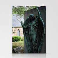 snatch Stationery Cards featuring Grave Snatcher by Cemetery Prints Inc.