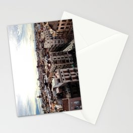 A Walk Across The Rooftops Stationery Cards