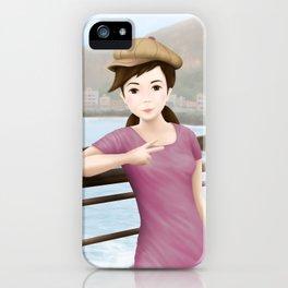 Fern at Yehliu Geopark iPhone Case