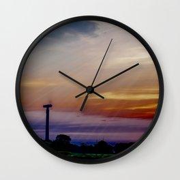 radios solis occasum Horumersiel Wall Clock