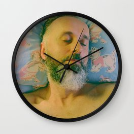 SISSYDUDE SLEEPING Wall Clock