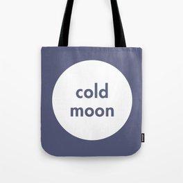 Cold Moon Tote Bag