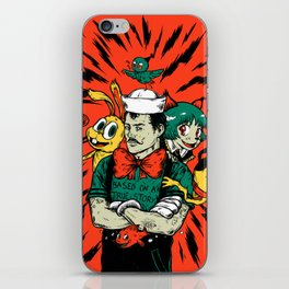 Based on a true story iPhone Skin