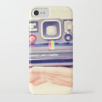 polaroid iPhone & iPod Cases featuring Polaroid by Irene Miravete