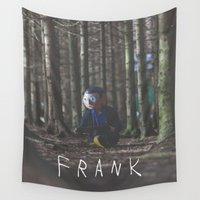 frank Wall Tapestries featuring Frank V by Earl of Grey
