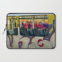 Departure with Ghosts Laptop Sleeve