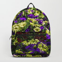 Waves of Petunias Backpack