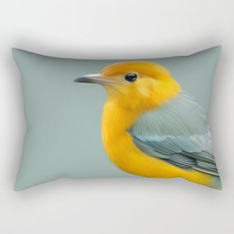 Yellow Finch Rectangular Pillow