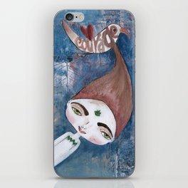 Courage-Bhoomie iPhone Skin