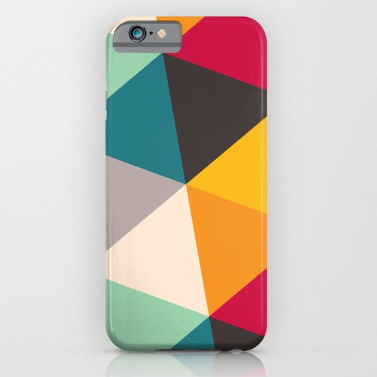 Geometric Triangles iPhone & iPod Case