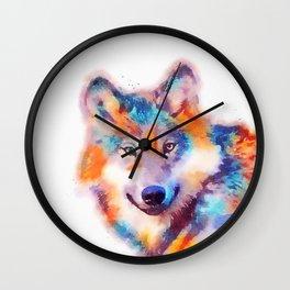 The Faithful - Wolf Wall Clock