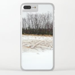 Snow is falling... Clear iPhone Case