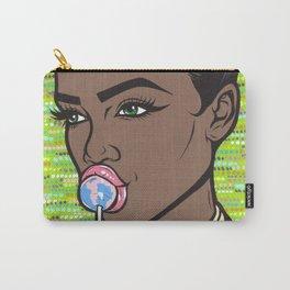lollipop comic girl Carry-All Pouch