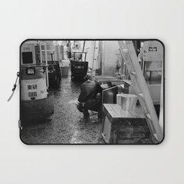 Pressure Washing, Tsukiji Fish Market, Tokyo, Japan Laptop Sleeve