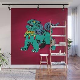 Fu Dog Wall Mural