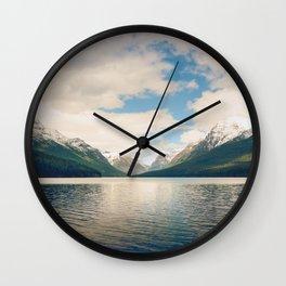 Bowman Lake Wall Clock