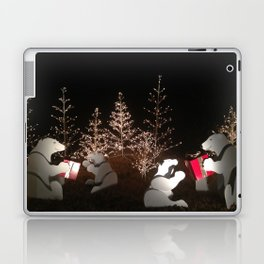 Polar Bear Christmas Laptop & iPad Skin