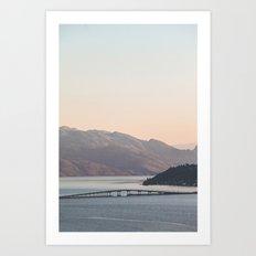 Okanagan Lake VI Art Print