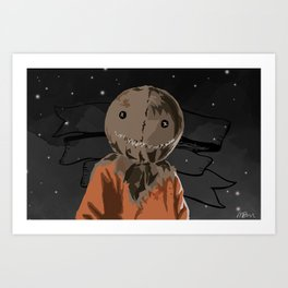 Always Check Your Candy...  Art Print