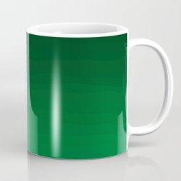Happy Bright Apple Green Ombre Coffee Mug