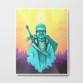 The Legend Of Robert Metal Print