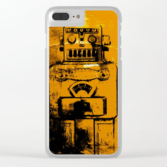 Radioactive Generation 8 Clear iPhone Case
