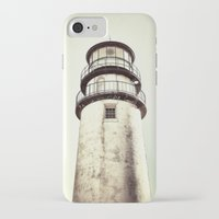 cape cod iPhone & iPod Cases featuring cape cod lighthouse by marie grady palcic
